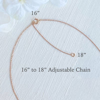 "16"" to 18"" Adjustable Gold Chain Necklace La More Design Jewelry"