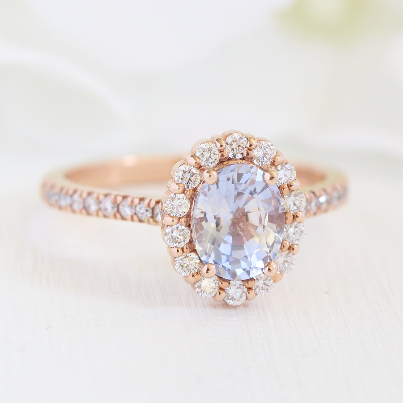 rose oval light sapphire listing custom eidelprecious il engagement gold baby by blue fullxfull ring