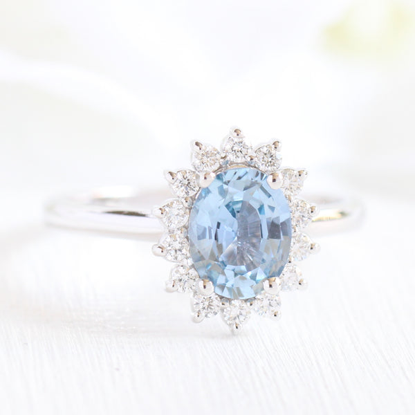 blue light and in ct rings engagement diamond ring tw amour gold white sapphire