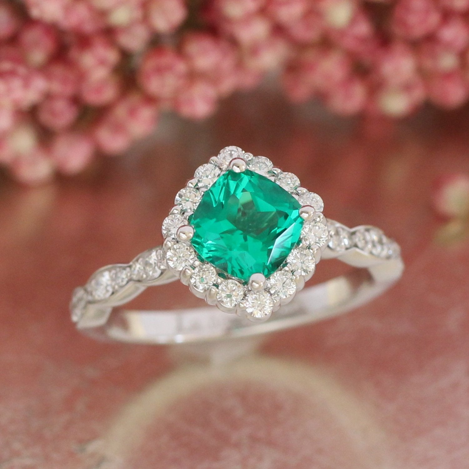 model obj cushion sapphire cut emerald print cgtrader rings ring stl jewelry models with