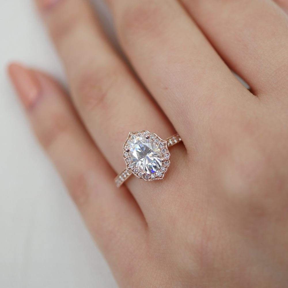 brilliant pave four a in three engagement gold bright sided milgrain white diamond platinum prong set enr bead round ring