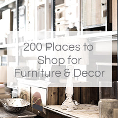 200 places to shop for furniture and decor
