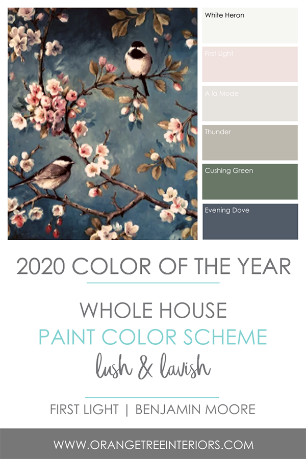 2020 Colour of the Year First Light by Benjamin Moore