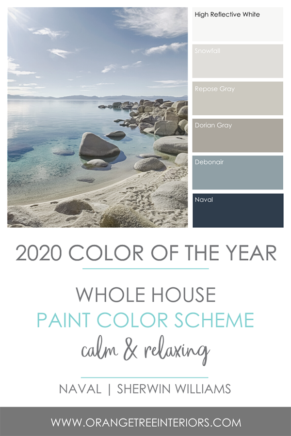 2020 Colour of the Year Naval by Sherwin Williams