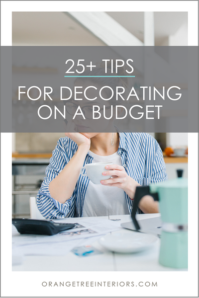 Decorate You Home on a Budget