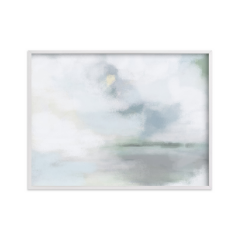 Abstract Oil Painting Blue