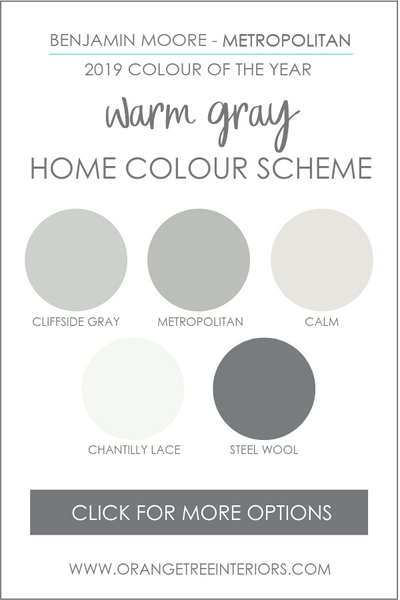 Whole Home Colour Scheme Benjamin Moore