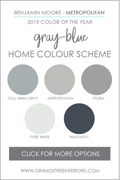 Benjamin Moore Whole House Colour Palette
