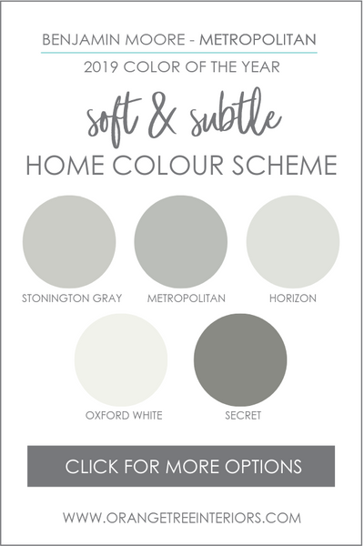 Benjamin Moore Whole House Colour Scheme