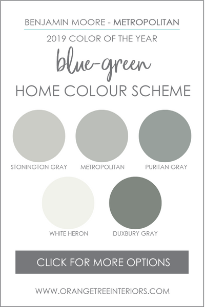 Benjamin Moore 2019 Colour of Year Colour Scheme