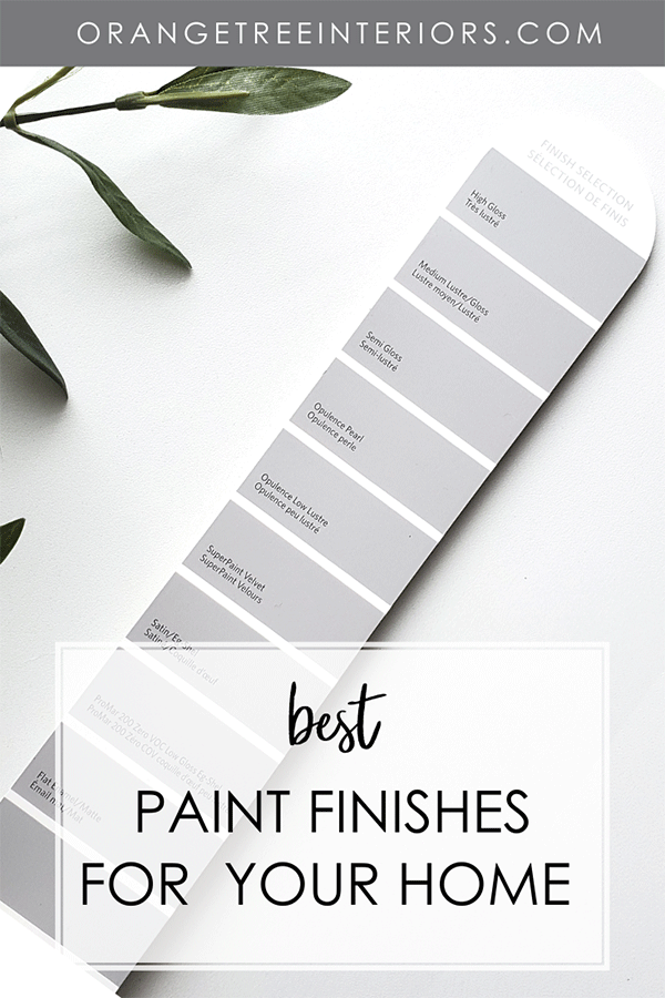 Best Paint Finishes for Your Home 2020