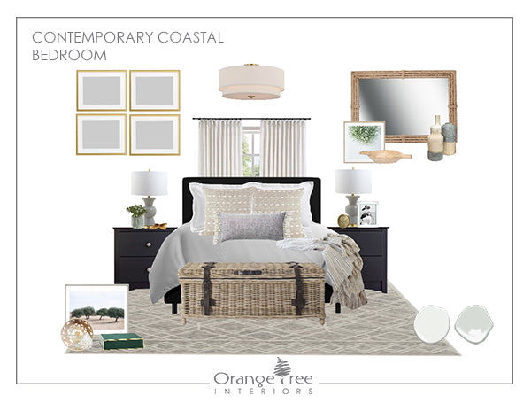 Contemporary Coastal Bedroom
