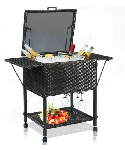Cooler Cart for Patio