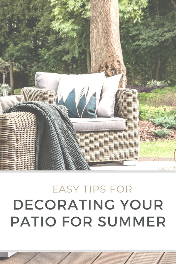 Decorating Your Patio for Summer