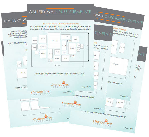 Free Gallery Wall Templates