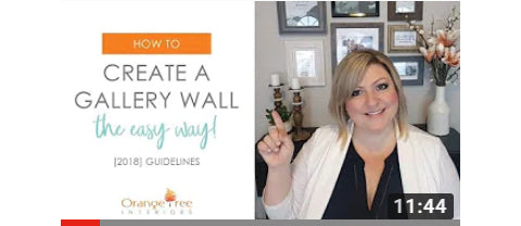 How to Create a Gallery Wall Video