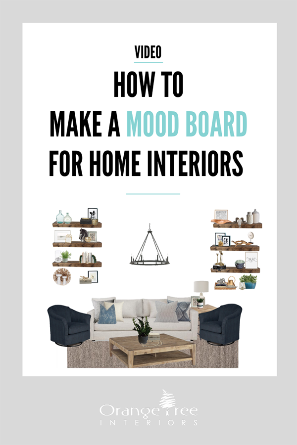 How to make a mood board for home interiors