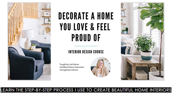 Online Interior Design Course for DIYers