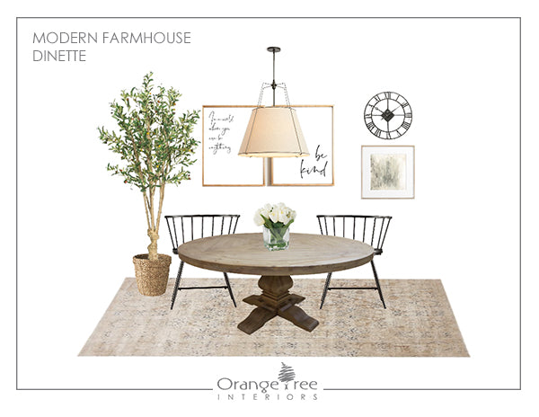 Modern Farmhouse Dinette