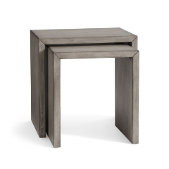 Nesting Wood Side Tables