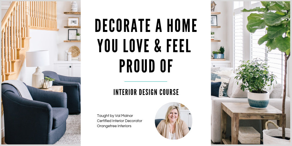 Online Interior Decorating Course for DIYers