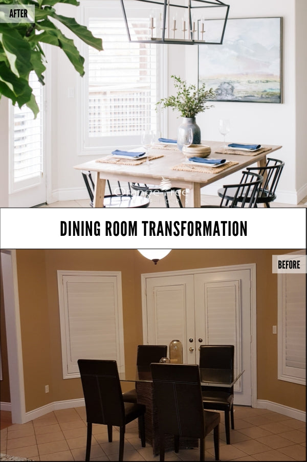 Online Interior Design Course Transformation Dining Room