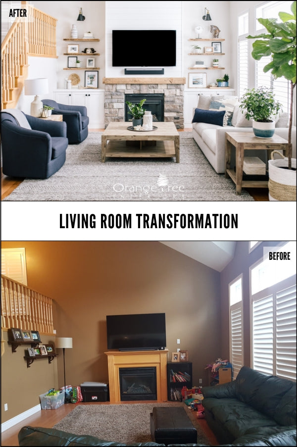 Online Interior Design Course Transformation Living Room