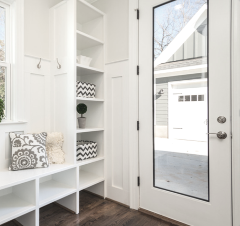 Open Concept Space with Storage