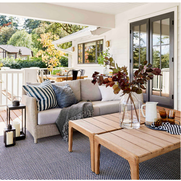 Patio with Outdoor Pillows