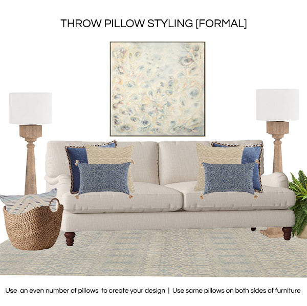 Throw pillow styling 2019 - FORMAL