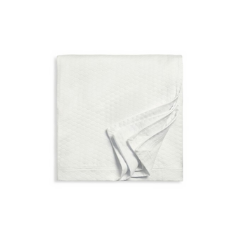 White Texture Coverlet