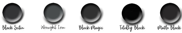 best black paint colours
