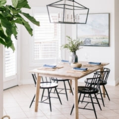 dining table and chairs best coastal