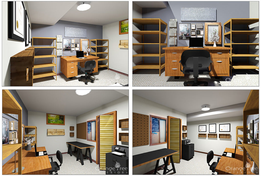 online interior design - office