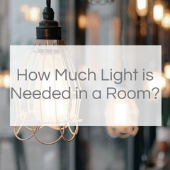 How Much Light is Needed in a Room?