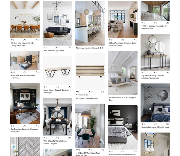 research your interior design project
