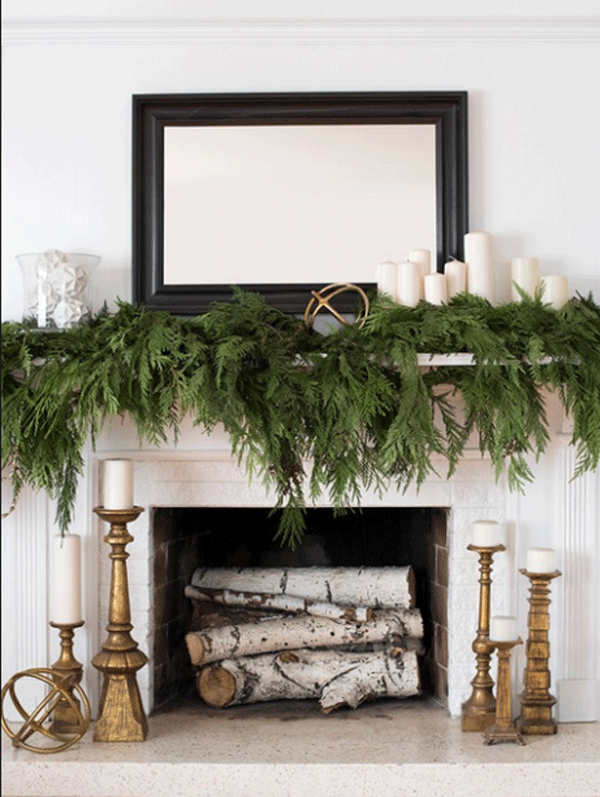 Use neutral colours to transition from Christmas to Winter Decor