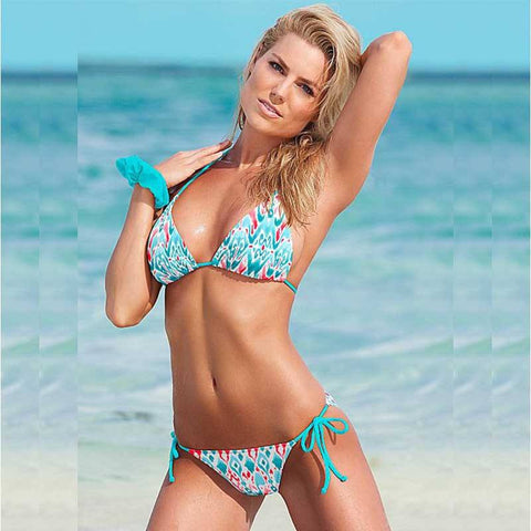 Maya Brazilian String Bikini, Sexy String Brazilian Bikini Swimsuit - Tropic Dreams