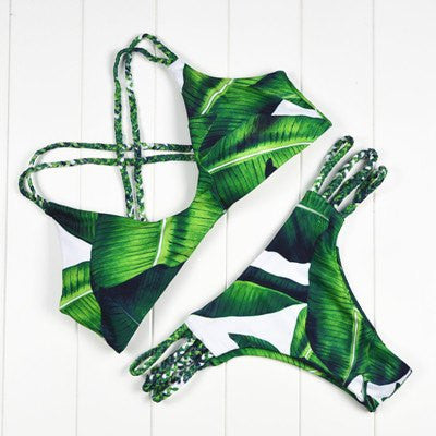 Danielle Strappy Brazilian Bikini, Sexy Brazilian Bikini Swimsuit - Tropic Dreams