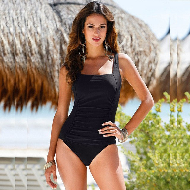 Vicki One Piece Classic Swimsuit, One Piece Classic Swimsuit - Tropic Dreams