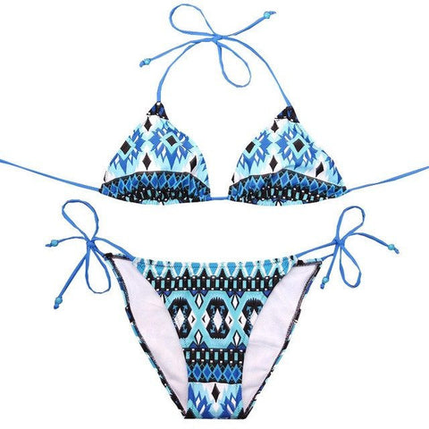 Maria Brazilian String Bikini, Sexy String Brazilian Bikini Swimsuit - Tropic Dreams