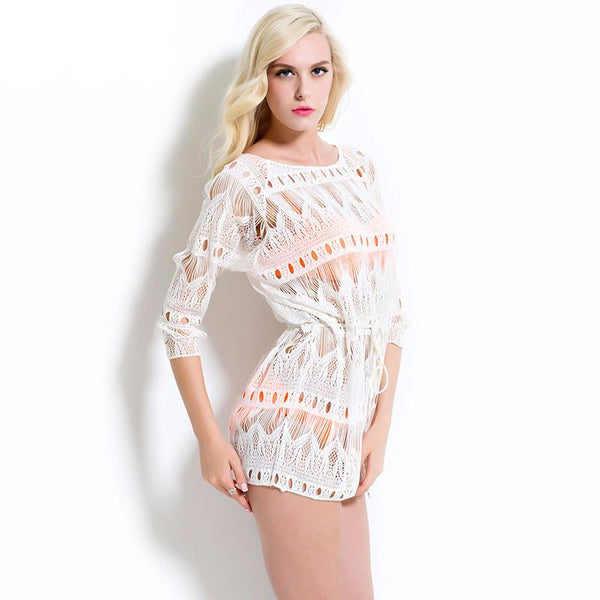 Giselle Lace Cover Up, Cover Up - Tropic Dreams