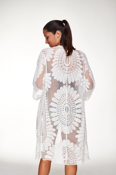 Audrey Lace Cover Up, Cover Up - Tropic Dreams