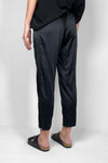 black silk satin comfortable evening pants  made in australia