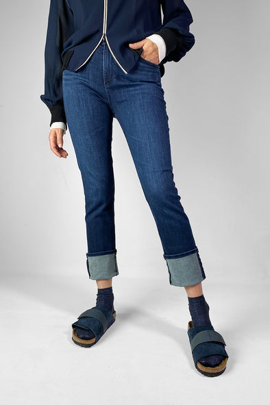 ag mari high rise straight jean