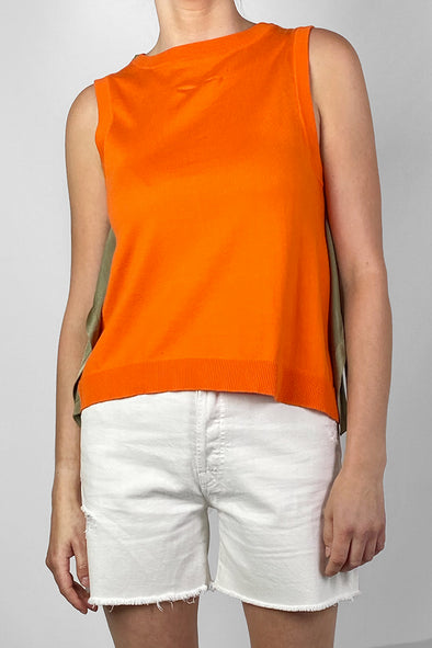 Re-Luxed | RL0333 | MM6 Maison Margiela - bateau neckline short sleeve top