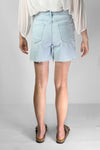Re-Luxed | RL0345 | FRAME - pale blue mini shorts
