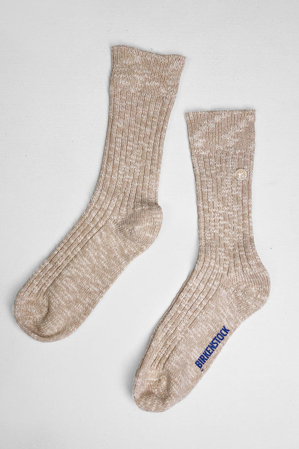 birkenstock cotton slub rib socks