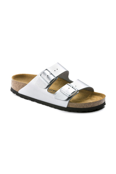 birkenstock arizona graceful silver
