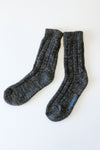 cotton twist rib socks